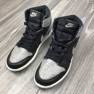 Nike Air Jordan 1 Retro High OG Shadow Gray Black